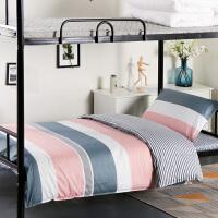 学生宿舍床上三件套单人床寝室上下铺全棉被套床单被褥套装六件套 其它