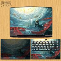 联想笔记本电脑贴纸y7000p拯救者r720 15.6英寸y9000k外壳15ISK保护膜y720全
