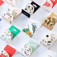 联华(LENWA)文具手帐和纸胶带创意纸胶带可爱手账日记胶纸diy装饰贴纸