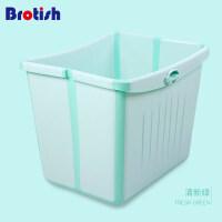 婴儿浴盆可折叠儿童洗澡盆沐浴桶可坐宝宝洗澡桶泡澡桶