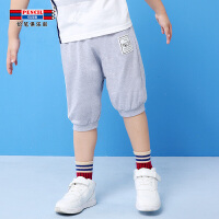 【3件2折价:25.8】铅笔俱乐部童装2019夏季新款男童短裤中大童短裤五分裤儿童休闲裤