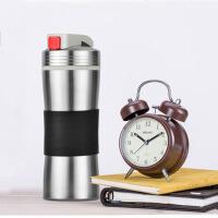 户外不锈钢旅行杯保温杯便携水杯陶瓷内胆泡茶杯子