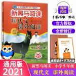 正版现货2020新黑马阅读丛书 现代文课外阅读五年级
