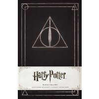 Harry Potter Deathly Hallows Hardcover Ruled Journal 哈利波特:死