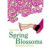 英文原版 Spring Blossoms