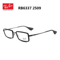 雷朋近视眼镜框男款女款 眼镜架 配近视眼镜 全框眼镜框男RB6337