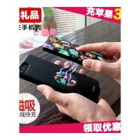 便携iphone7背夹充电宝电池苹果6plus手机壳6s卡通移动电源8p 黑怪兽【 4.7寸】6800m