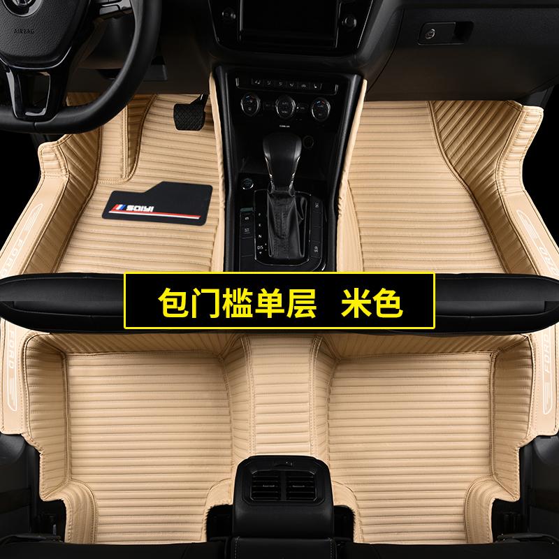 专用于福特2012款新经典福克斯两三厢嘉年华福睿斯汽车脚垫全包围