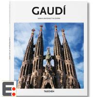 安东尼高迪建筑设计作品集 Gaudí 高迪画册 建筑大师画册 英文建筑设计图书籍