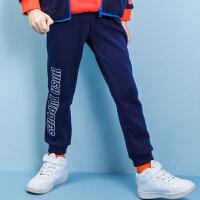【3件3折:119.7元】暇步士童装冬季新款男童加绒长裤儿童加绒保暖长裤