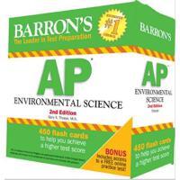 【预订】Barron S AP Environmental Science Flash Cards, 2nd Edit
