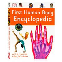英文原版 DK人体百科全书 First Human Body Encyclopedia 人体医学知识科普百科 儿童趣味科