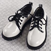 男童皮鞋中大童儿童皮鞋冬黑色小皮鞋单鞋学生演出皮鞋演出SN4399 26 内长16.5cm