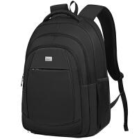 17寸电脑包双肩包男士背包时尚潮大容量旅行包多功能书包