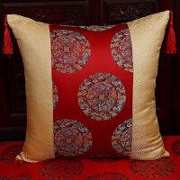中式抱枕中风罗汉床枕现代简约客厅明清古典含芯沙发靠垫套