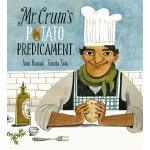 英文原版 薯片的诞生 Felicita Sala插画绘本 精装 Mr. Crum's Potato Predicame