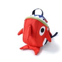 儿童防走失背包1-3岁幼儿园可爱小鲨鱼迷你双肩包男女宝宝小书包