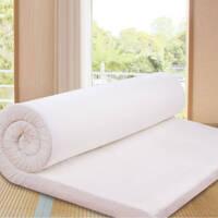 高密度慢回弹床垫 可折叠学生床褥1 1.35 1.5 1.8 2米定做 舒适款 密度60d 厚度20cm