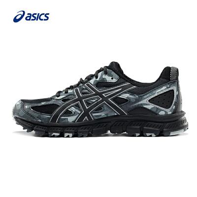 asics亚瑟士GEL-SCRAM 3越野跑鞋耐磨运动鞋男T6K2N-9090耐磨越野跑鞋