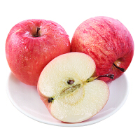 陕西洛川红富士苹果 当季新鲜水果红苹果丑苹果带箱5斤 果径70-75mm