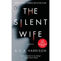 现货沉默的妻子 The Silent Wife 英文原版 平装 英文版推理惊悚小说 A.S.A. Harrison 企鹅
