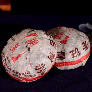 两个一起拍【14年老沱茶】 2004年 老班章古树沱茶 生茶500克/个