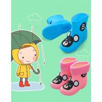 宝宝1-3防滑婴幼儿童雨鞋男童女童小童雨靴水鞋水靴胶鞋公主可爱
