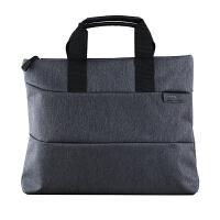 晨光文件袋帆布包商务拉链多层男女办公包补习包韩国小清新韩版学生用a4手提袋