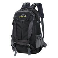 3件7折新款男士大容量双肩包登山旅行背包韩版潮女士电脑包旅游双肩背包