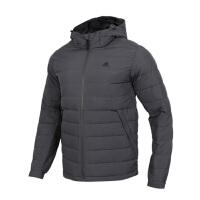 Adidas阿迪达斯 男装 运动保暖羽绒服连帽夹克外套 DM1958