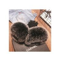 新年优惠【NEW】羊皮手套女士秋冬季韩版可爱大气加绒加厚保暖真皮手套开车