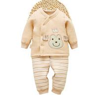 博菩点点 婴儿秋冬季新生儿棉衣套装儿童外出棉袄衣服男女宝宝冬装棉袄