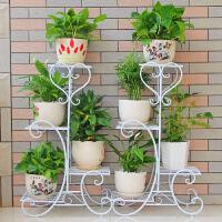 【支持礼品卡】花架子多层室内特价家用阳台置物架铁艺客厅省空间花盆落地式绿萝 ig4