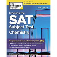 Cracking the SAT Subject Test in Chemistry, 16th Edition 破解