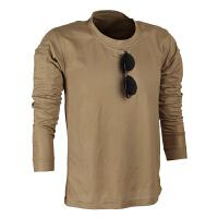 战术T恤特种兵军迷户外战术长袖T恤男圆领长袖运动休闲弹力透气