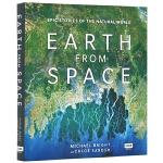 从太空看地球 英文原版 Earth from Space 卫星照片集 BBC自然纪录片 英文版自然科普书 大自然的史诗