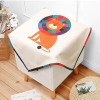 防尘盖布桌子怀旧消毒柜电视巾美式音响灰尘四方桌蕾丝纱遮布