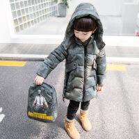 男宝宝棉衣冬装外套1一3岁 男童冬款中长款保暖加厚4男宝上衣