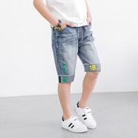 男童短裤童装夏季新款宽松牛仔五分裤儿童裤子薄款休闲夏裤潮