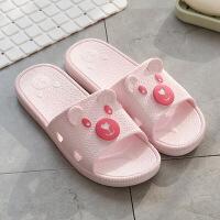 冲凉拖鞋女夏浴室家居防滑情侣家用托鞋男夏季洗澡室内夏天居家鞋