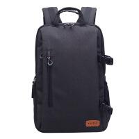 适用佳能尼康摄影包 防盗单反相机背包休闲大容量旅行包双肩包