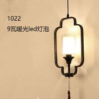 新中式吊灯客厅灯简约现代中风客厅美容院餐厅店铺灯具个性