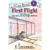First Flight 初次飞行 (I Can Read, Level 4)[平装]