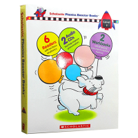 自然拼读学练系列第一级 英文原版 Phonics Booster boxed set Level 1少儿英语启蒙 自然拼读法教材 华研原版