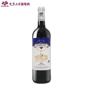 法国AOC级 波尔多地区CMP巴黎庄园雷霆庄干红葡萄酒整箱单只进口