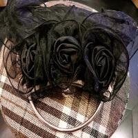 手工玫瑰花朵晚装宴会包女包手提包斜跨包小包