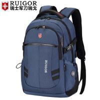 瑞戈瑞戈瑞士军刀瑞士中学生书包女大容量电脑背包男旅行包双肩包