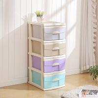 彩色塑料儿童婴儿玩具抽屉整理箱储物柜衣服收纳柜 组合收纳柜
