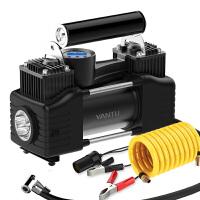 车载充气泵双缸轮胎电动小轿车便携式多功能加气汽车用打气泵