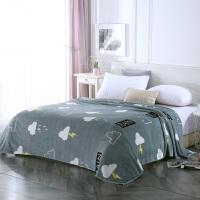 木偶奇遇MO062法兰绒毛毯被子午睡沙发毯办公室空调毯盖腿小毯子午休毯